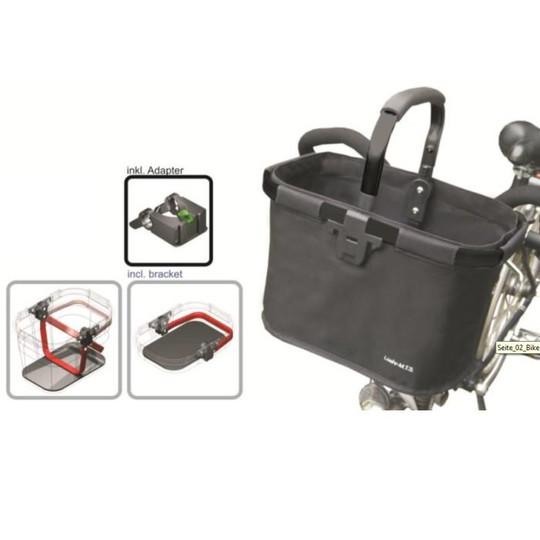 a2492c38335517 MTS Koszyk materiałowy CLICK na kierownicę - Sklep DobreRowery.pl
